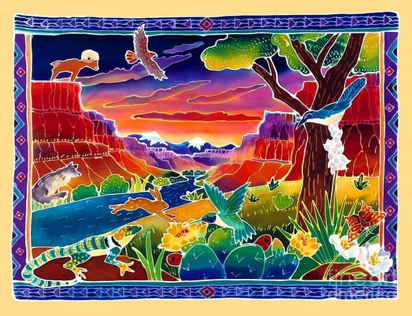 Desert Art Print featuring the painting Life Of The Desert by Harriet Peck Taylor