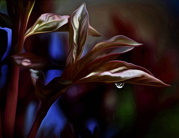 Dew Art Print featuring the photograph World Upside Down by David Kehrli