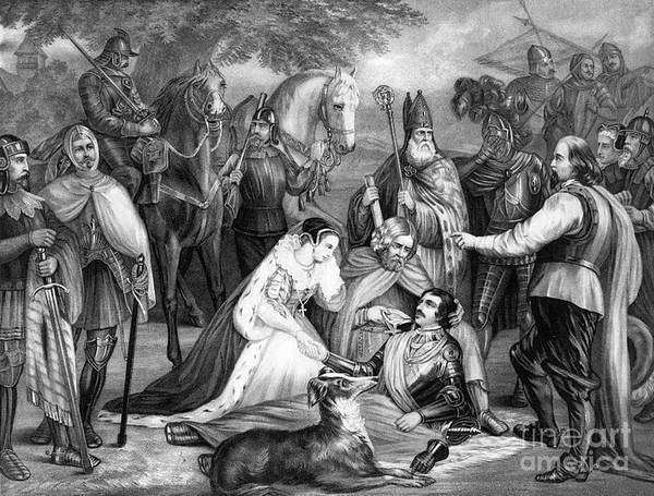 History Art Print featuring the photograph Mary Queen Of Scots by Photo Researchers