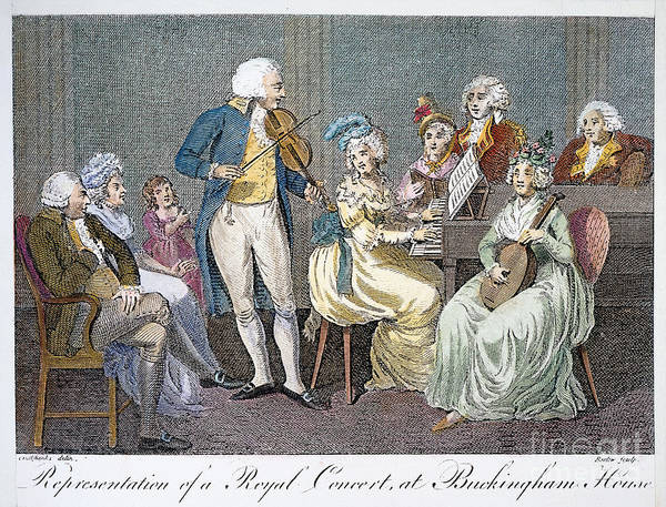 1793 Art Print featuring the photograph George IIi (1738-1820) by Granger