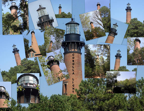 Light House Art Print featuring the photograph Currituck Beach Light House Station Nc Usa by Kim Galluzzo Wozniak