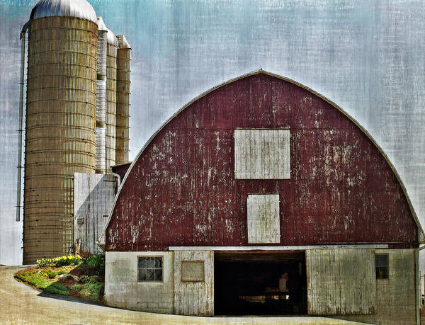 Barn Art Print featuring the photograph Harvest Barn by Kathy Jennings