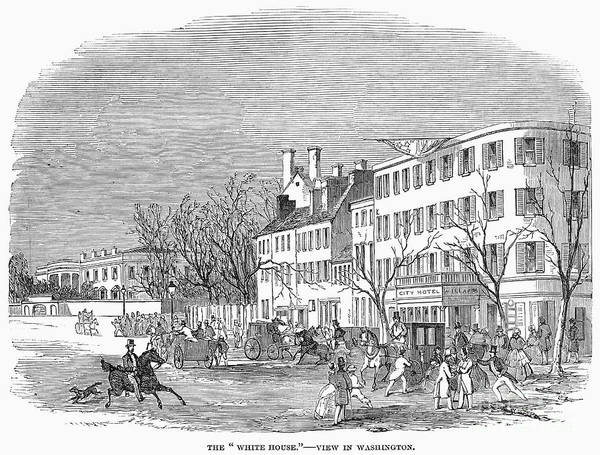 1853 Art Print featuring the photograph Washington, D.c., 1853 by Granger