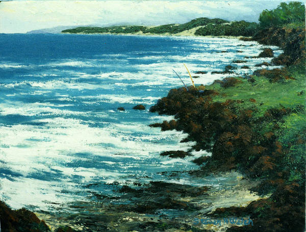 Hawaii Art Print featuring the painting Favorite Spot by Steven Welch