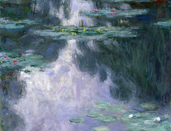 Nympheas Art Print featuring the painting Waterlilies 24 by Claude Monet