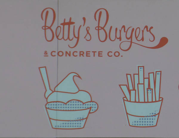 Betty's Burgers Art Print featuring the photograph Combo Meal by Bruce