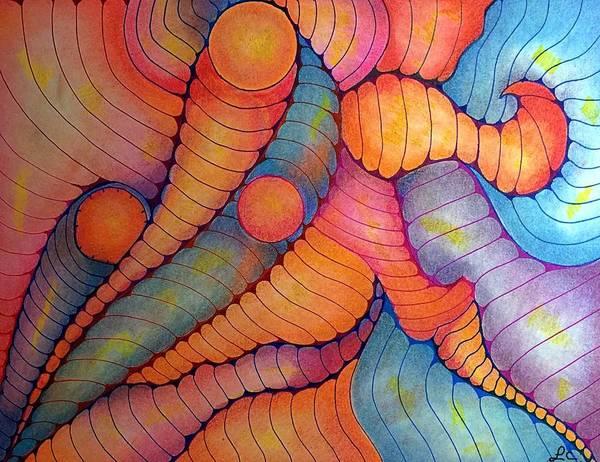 Dynamic Movement Art Print