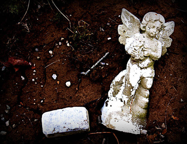 Angel Art Print featuring the photograph Fallen Angel by Susie Weaver