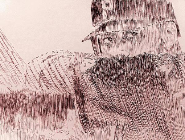 Pittsburgh Art Print featuring the drawing Hope Springs Eternal by Robbi Musser