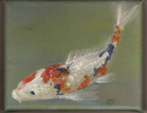 Koi Art Print featuring the painting Koi Ll by Colleen Birch