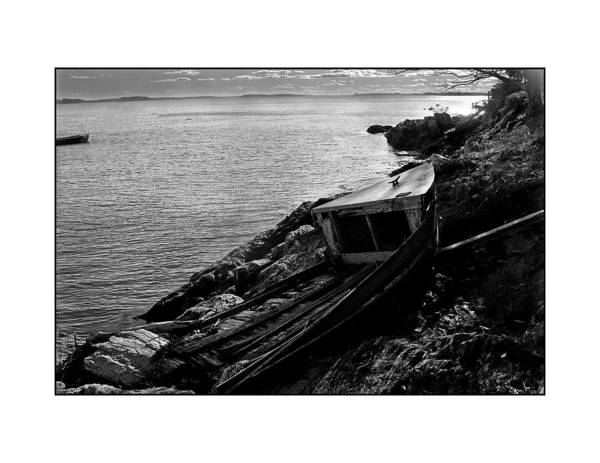 Seascape Art Print featuring the photograph Old Boat by Filipe N Marques