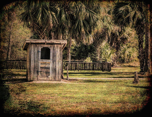 Shed Art Print featuring the photograph Old Storage Shed by Edelberto Cabrera