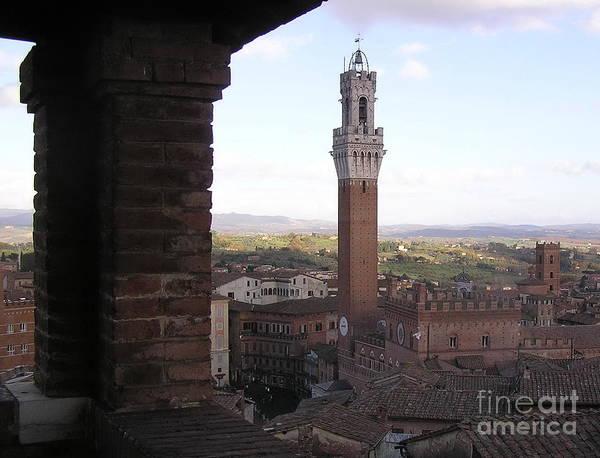 Siena Art Print featuring the photograph Siena by Enrico Ripamonti