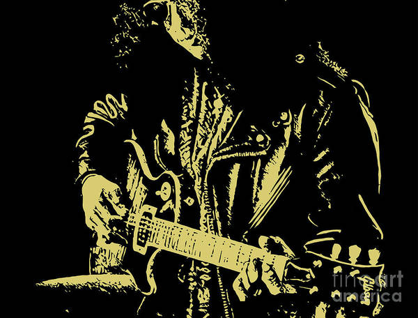 Slash Art Print featuring the digital art Slash N.02 by Caio Caldas