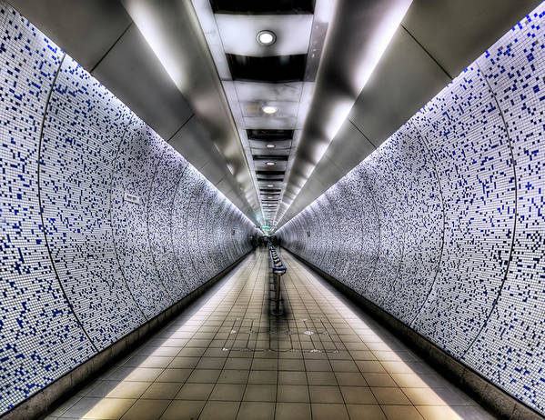 Tube Art Print featuring the photograph The Tube by Evelina Kremsdorf