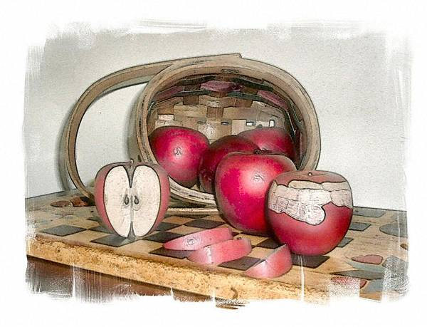 Apples Art Print featuring the photograph White's Fall by Rose Guay
