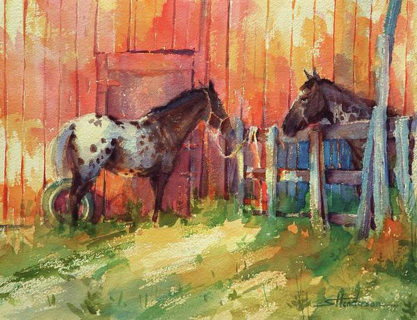 Wooden Horse Paintings Fine Art America