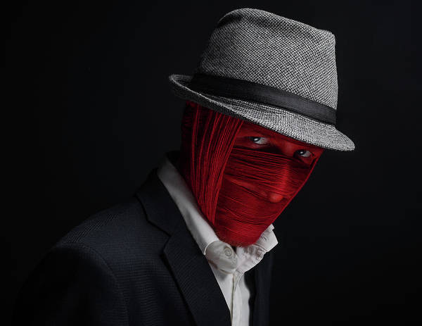 Mask Art Print featuring the photograph Watchman by Alex Malikov