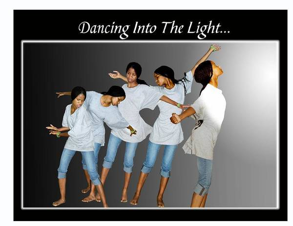 Photo Art Print featuring the photograph Dancing Into The Light by Richard Gordon