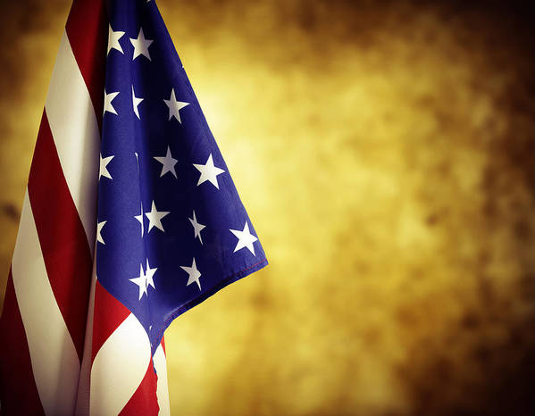 Government Art Print featuring the photograph American Flag by Les Cunliffe