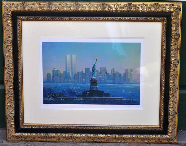 911 Art Print featuring the photograph Before Nine Eleven by Jay Milo