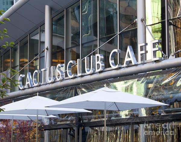 Cactus Club Art Print featuring the photograph Cactus Club by Chris Dutton
