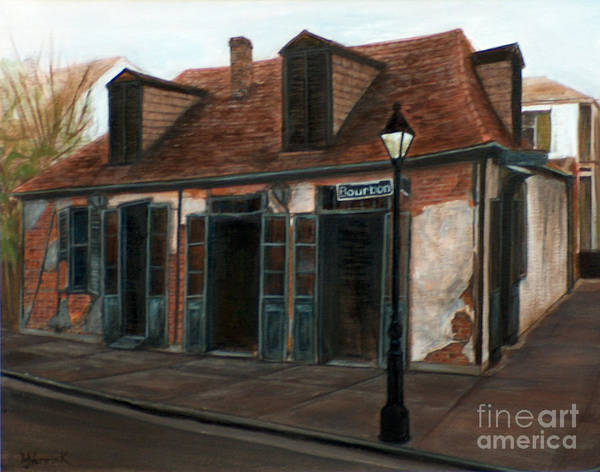 Realism Art Print featuring the painting New Orleans Familiar Site Before by M J Venrick