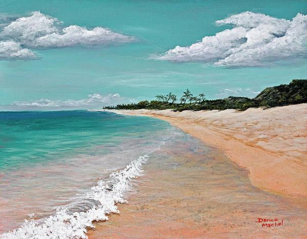 Hawaii Art Print featuring the painting Northshore Oahu by Darice Machel McGuire