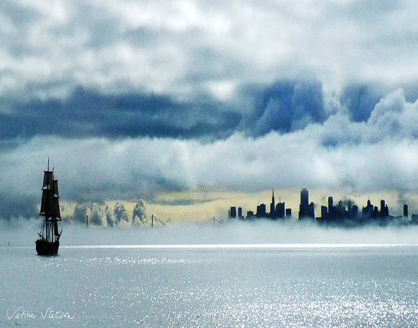 San Francisco Art Print featuring the photograph Passage by Sabine Stetson
