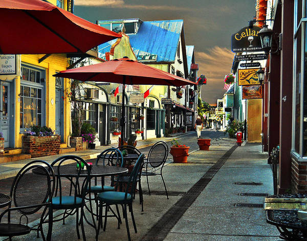 St. Augustine Art Print featuring the photograph St. Augustine by Tom Reed