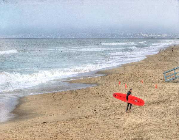 Surfer Print featuring the photograph Surfer Boy by Juli Scalzi