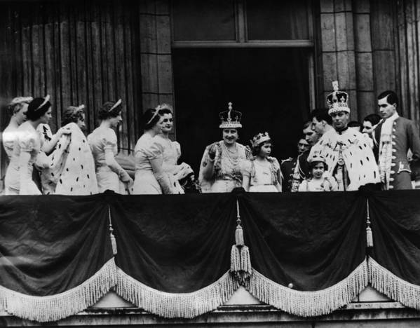 1930s Art Print featuring the photograph British Royal Family. From Center, L-r by Everett