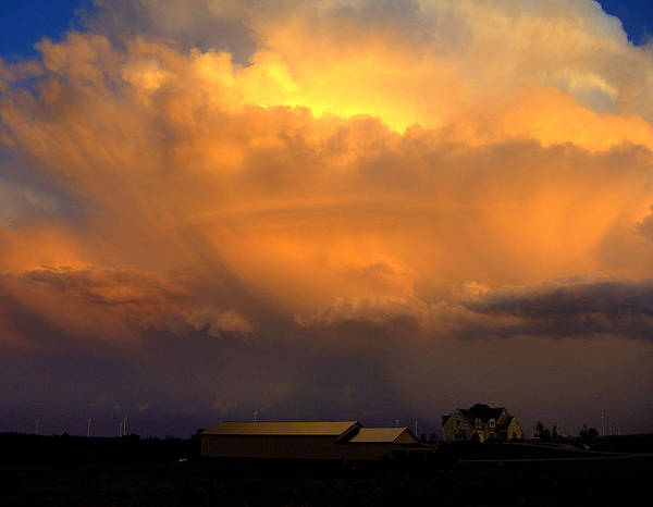 Cloud Art Print featuring the photograph Fury by Claude Oesterreicher