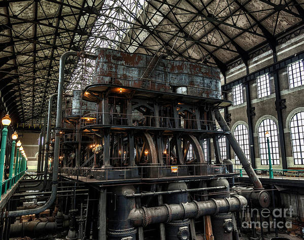 Steampunk Art Print featuring the photograph Massive by Phil Pantano