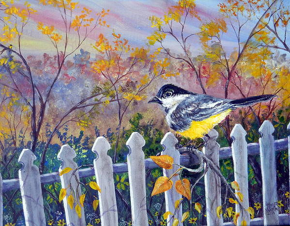 Leslie Art Print featuring the painting Is It Spring Yet by Leslie Hoops-Wallace