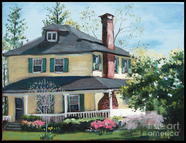 Catonsville Art Print featuring the painting Spring by Edward Williams
