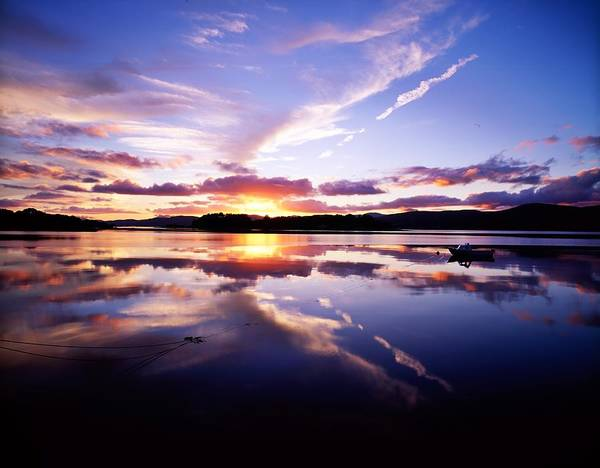 Bay Art Print featuring the photograph Sunset, Dinish Island Kenmare Bay by The Irish Image Collection