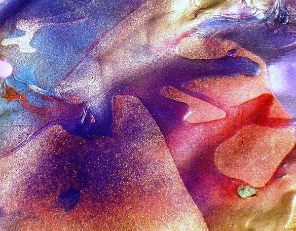 Abstract Art Print featuring the painting There Are No Words  Only Voices by Bruce Combs - REACH BEYOND
