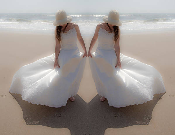Dress Art Print featuring the photograph Working With The Wind by Betsy Knapp