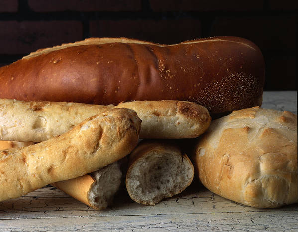 Bread Art Print featuring the photograph Bread by Jessica Wakefield