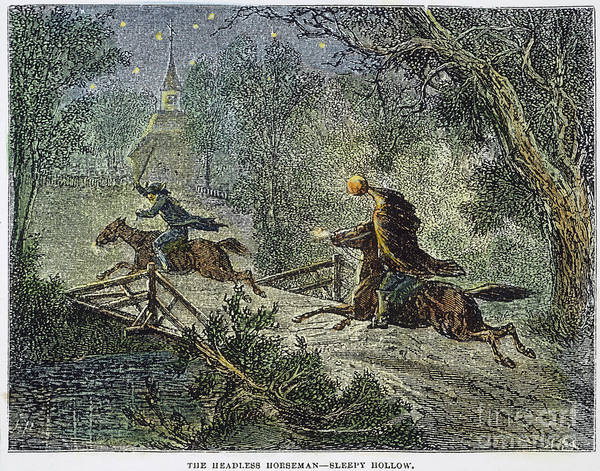 1876 Art Print featuring the photograph Irving: Sleepy Hollow by Granger