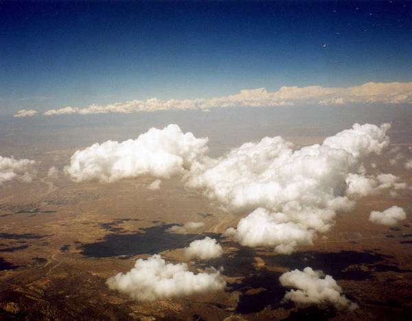 Sky Art Print featuring the photograph Above The Clouds by Jennifer Ott