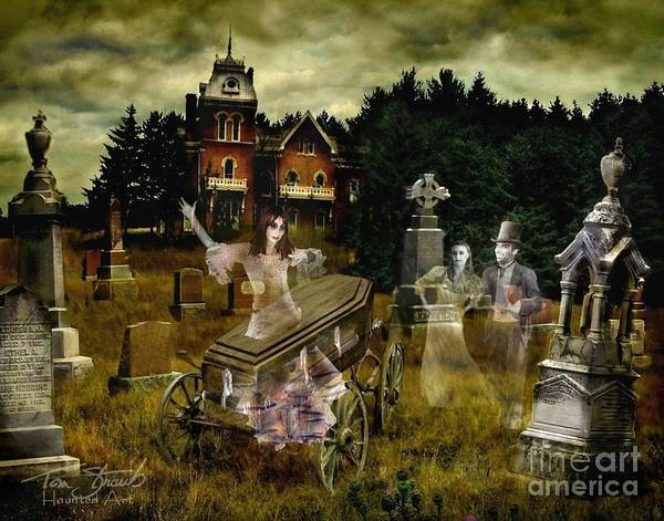 Ghosts Art Print featuring the photograph Black Fly by Tom Straub