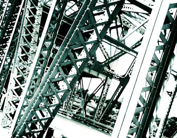 Art Print featuring the photograph Bridge 1.0 Two by J Son