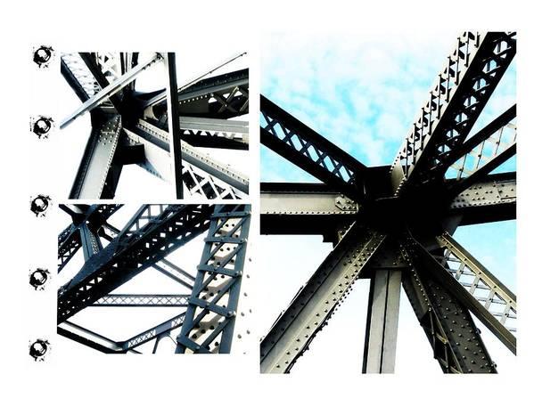 Art Print featuring the photograph Bridge Jux 1 by J Son