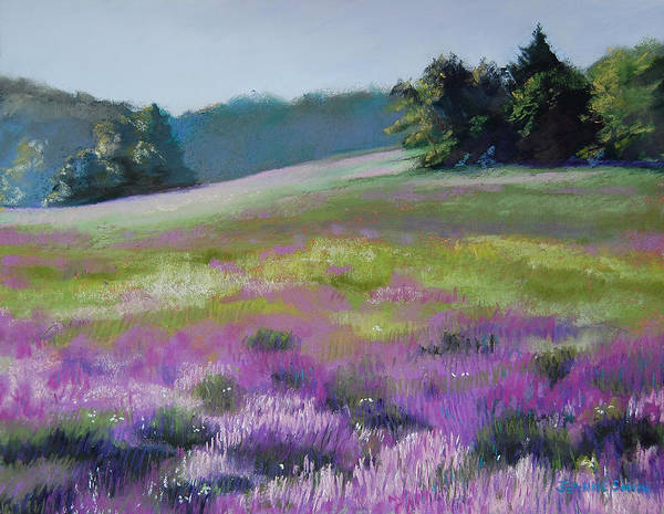 Concord Art Print featuring the painting Concord Loosestrife by Jeanne Rosier Smith