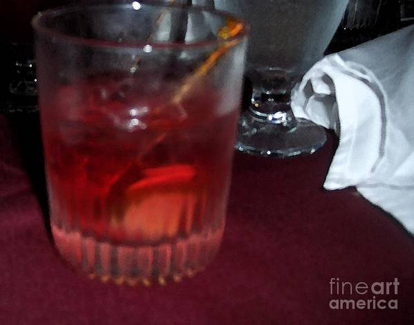 Drinks Art Print featuring the photograph Drink Up by Debbi Granruth