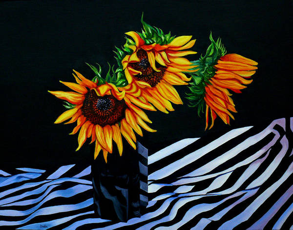 Endless Summer Art Print featuring the painting Endless Summer by Susan Duda