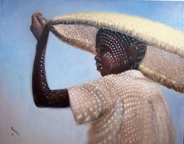 Realism Art Print featuring the painting Fisherman by Donelli DiMaria
