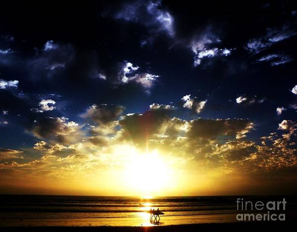 Sunsets Art Print featuring the photograph Glory by Daniele Smith